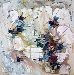 Abstract VI by Maya Eventov -  sized 30x30 inches. Available from Whitewall Galleries